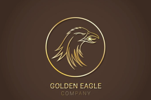 free_golden_eagle_vector_logo