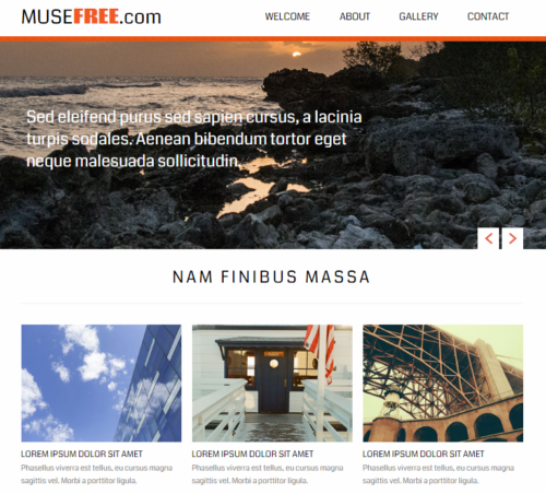 10 of The Best Photography & Portfolio Muse Templates | Ginva