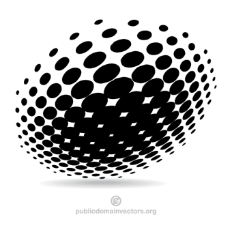 halftone_design_vector