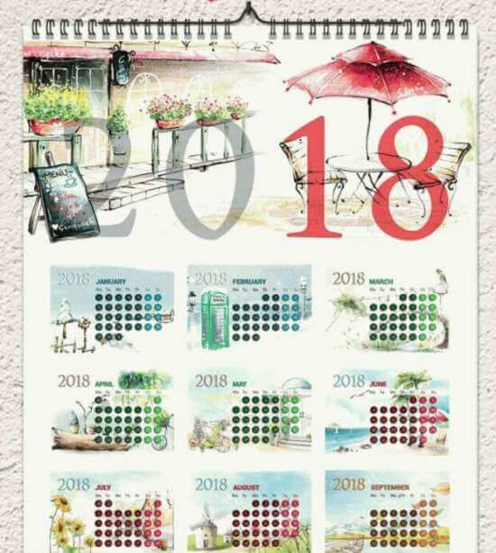 free_2018_calendar_template_1_and_12_pages_a3