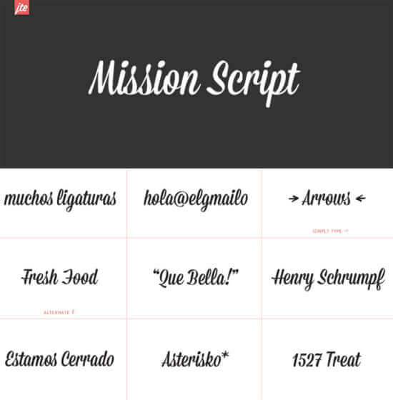 free_mission_script_hipster_font