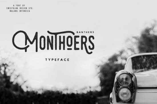 monthoers_hipster_font