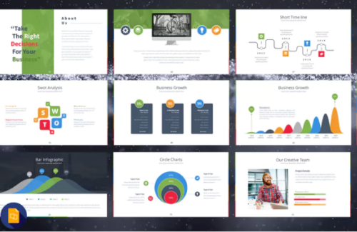 Slide Templates | 40 Free Google Slide Presentation Templates Ginva