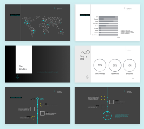 10 best timeline keynote templates | ginva, Powerpoint templates