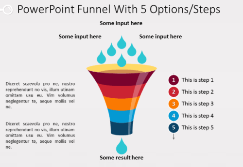 vertical_funnel_diagram_for_power_point_with_5_stages