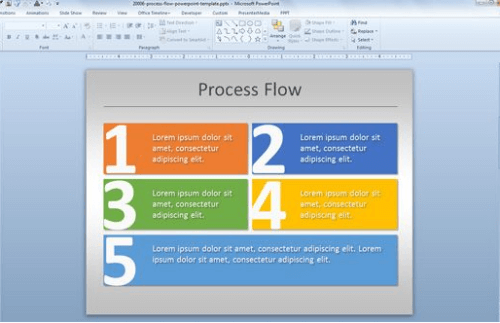 simple_process_flow_chart_template_for_power_point