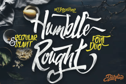 humblle_rought_font_duo