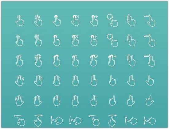 100_touch_gestures_icons