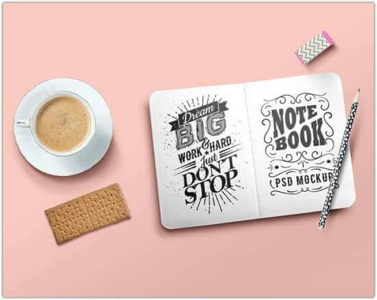 free_sketch_book_and_easel_painting_board_mockup_psd
