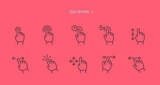 touch_gesture_icons_set