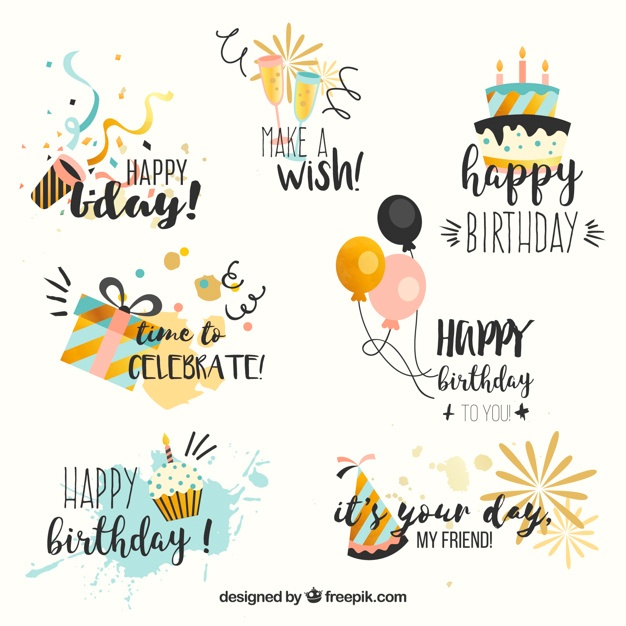 free_collection_of_birthday_stickers_in_vintage_style