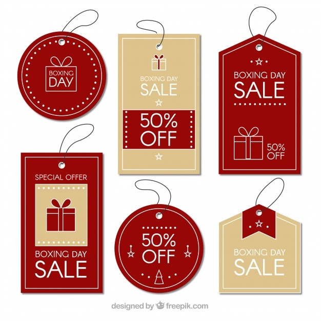free_elegant_boxing_day_sale_badge
