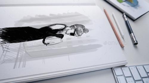 illustration_sketch_book_mockup
