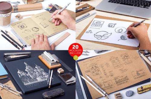 hand_drawn_sketch_mock_up_pack
