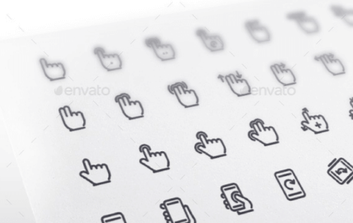gesture_line_icons_set