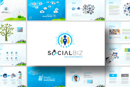 social_biz_power_point_template
