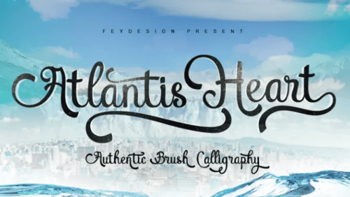 atlantis_heart_font