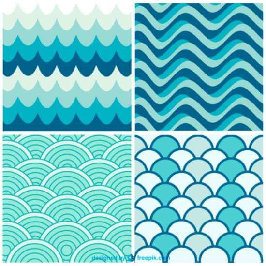 water_waves_retro_patterns