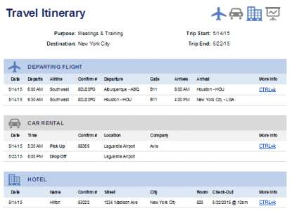 personal_effective_travel_itinerary_template