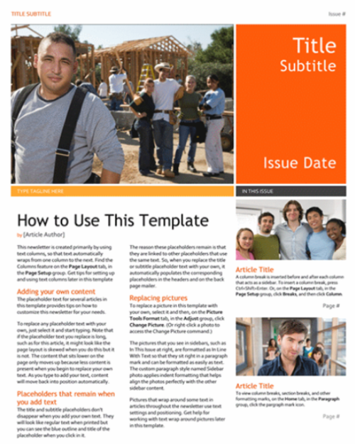 Magazine Article Template Free: 10 Print-Ready Magazine Word Templates (.DOC/.DOCX)