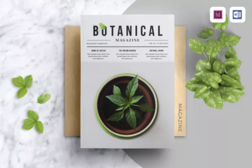 botanical_magazine_word_template