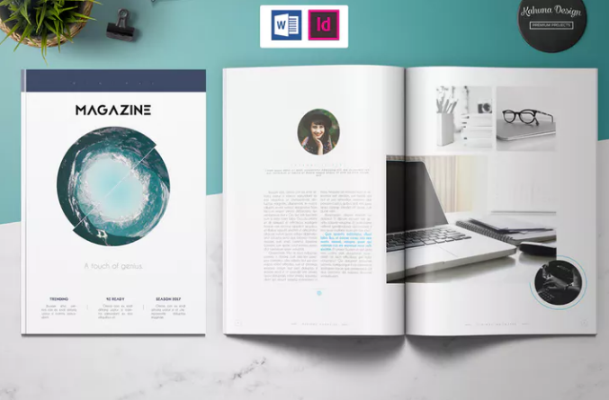 10 Print Ready Magazine Word Templates Ccx Ginva