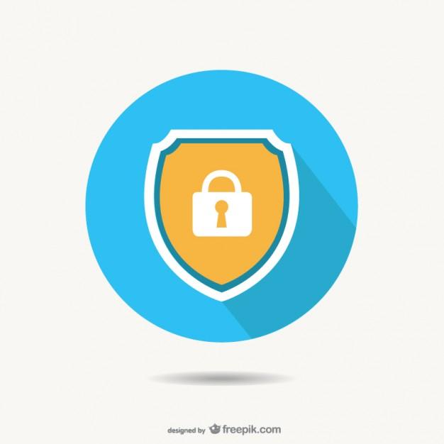 safety_lock_logo_template
