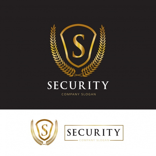 security_logo_design_template