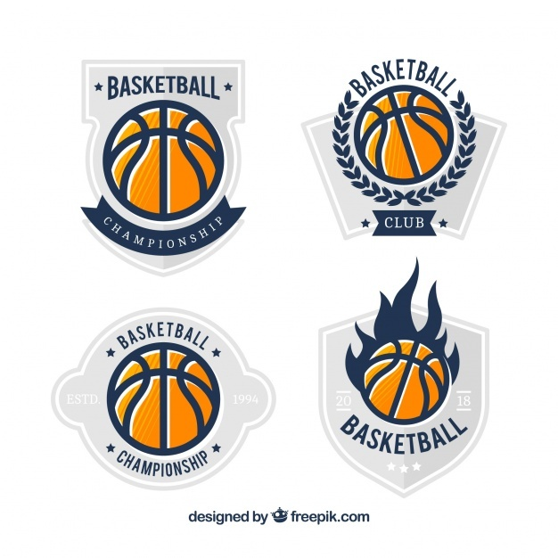 basketball_ball_logo_collection