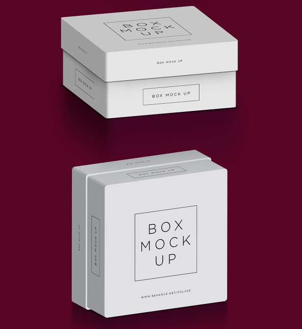 Free Box mockup for Diamond & Jewelry