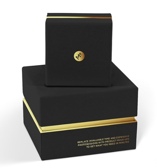 Elegant Jewelry Box Sets Mock-up