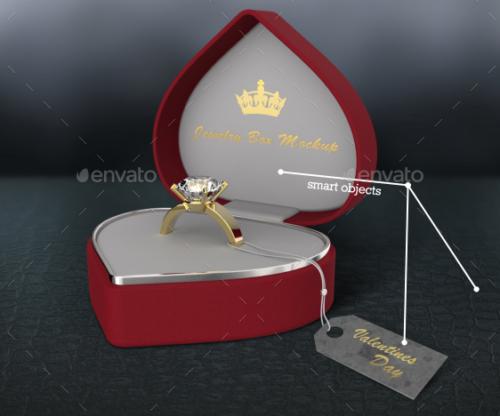 Jewelry Box \ Logo Mockup Template