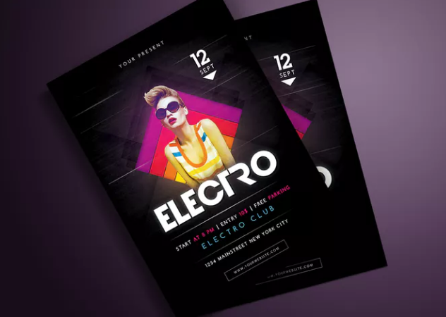 electro_party_flyer