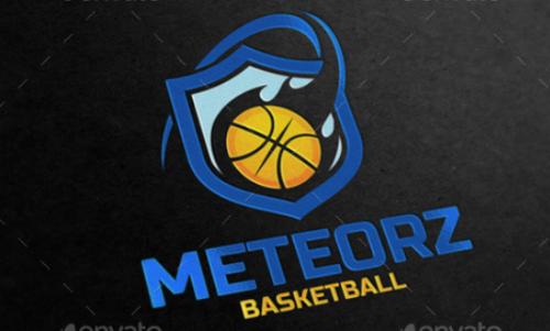 meteorz_basketball_logo_template