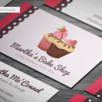 20+ Delicious Bakery Business Card Templates