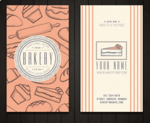vintage_vertical_bakery_business_card_template