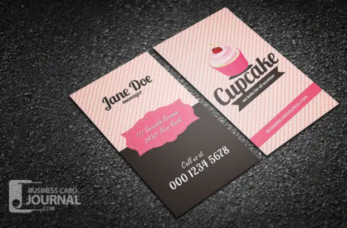 retro_style_cupcake_business_card_template