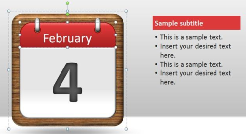 calendar_pages_power_point_template