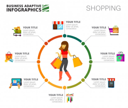 shopping_agenda_infographics_slide_template
