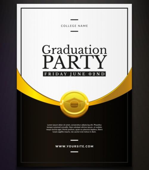 elegant_gold_graduation_party_invitation_template
