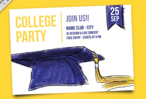 college_party_invitation_with_hand_painted_mortarboard