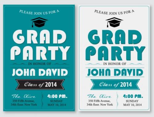 grad_party_poster_set