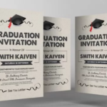 15 Free Graduation Invitations & Flyers Templates