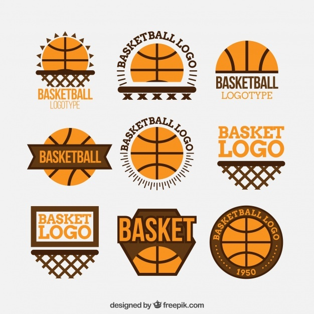 pack_of_basketball_logos_in_flat_design