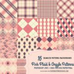 30+ Seamless Plaid Patterns & Backgrounds
