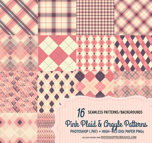 16_pink_plaid_and_argyle_patterns_and_backgrounds