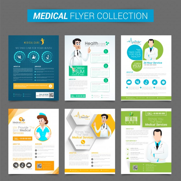 Professional Medical Flyer Psd Templates  Ginva