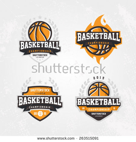 basketball_championship_logo_set