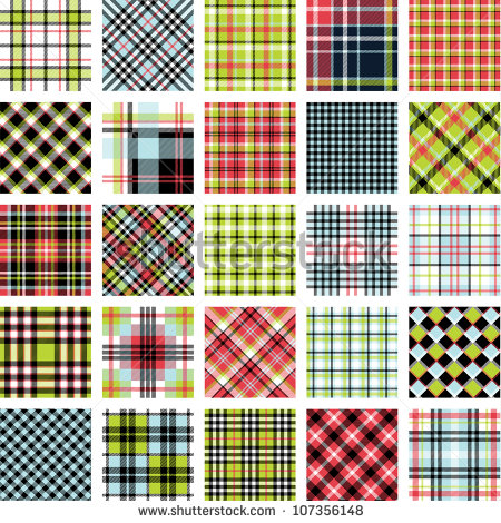 big_plaid_pattern_set