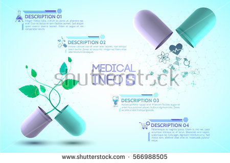 medical_info_poster_with_medication_and_treatment_symbols_realistic_vector_illustration